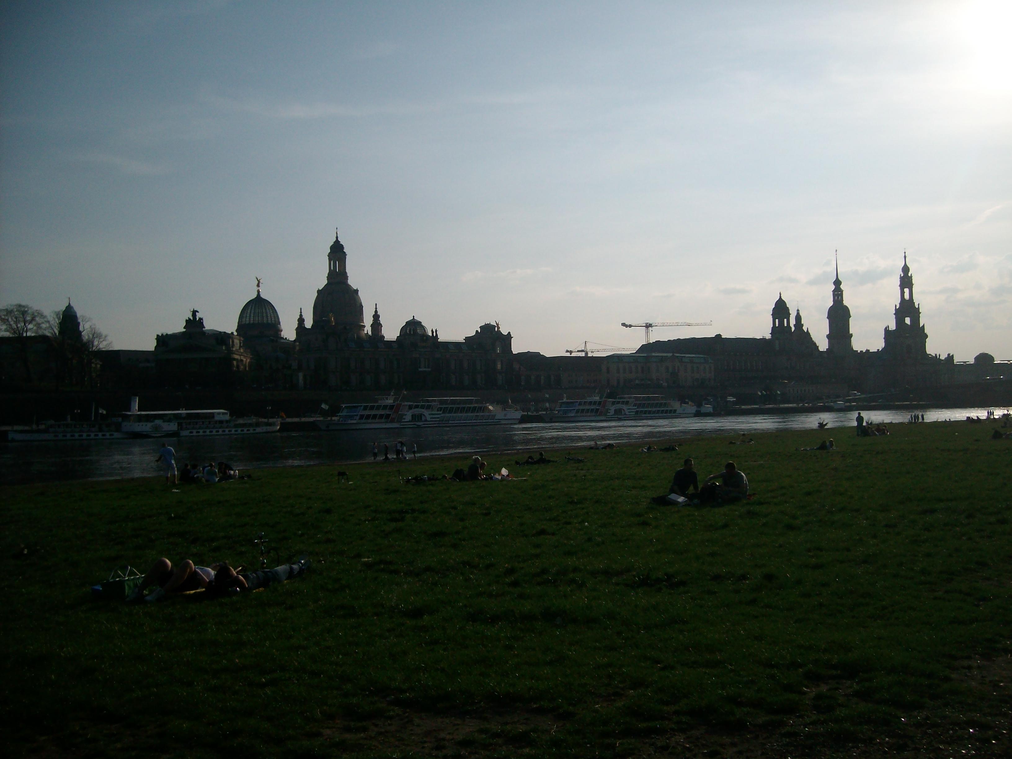 Endå so store øydeleggjingane var i 1945: Det unike bysentrumet i Dresden stend framleis på UNESCO si verdsarvlista.