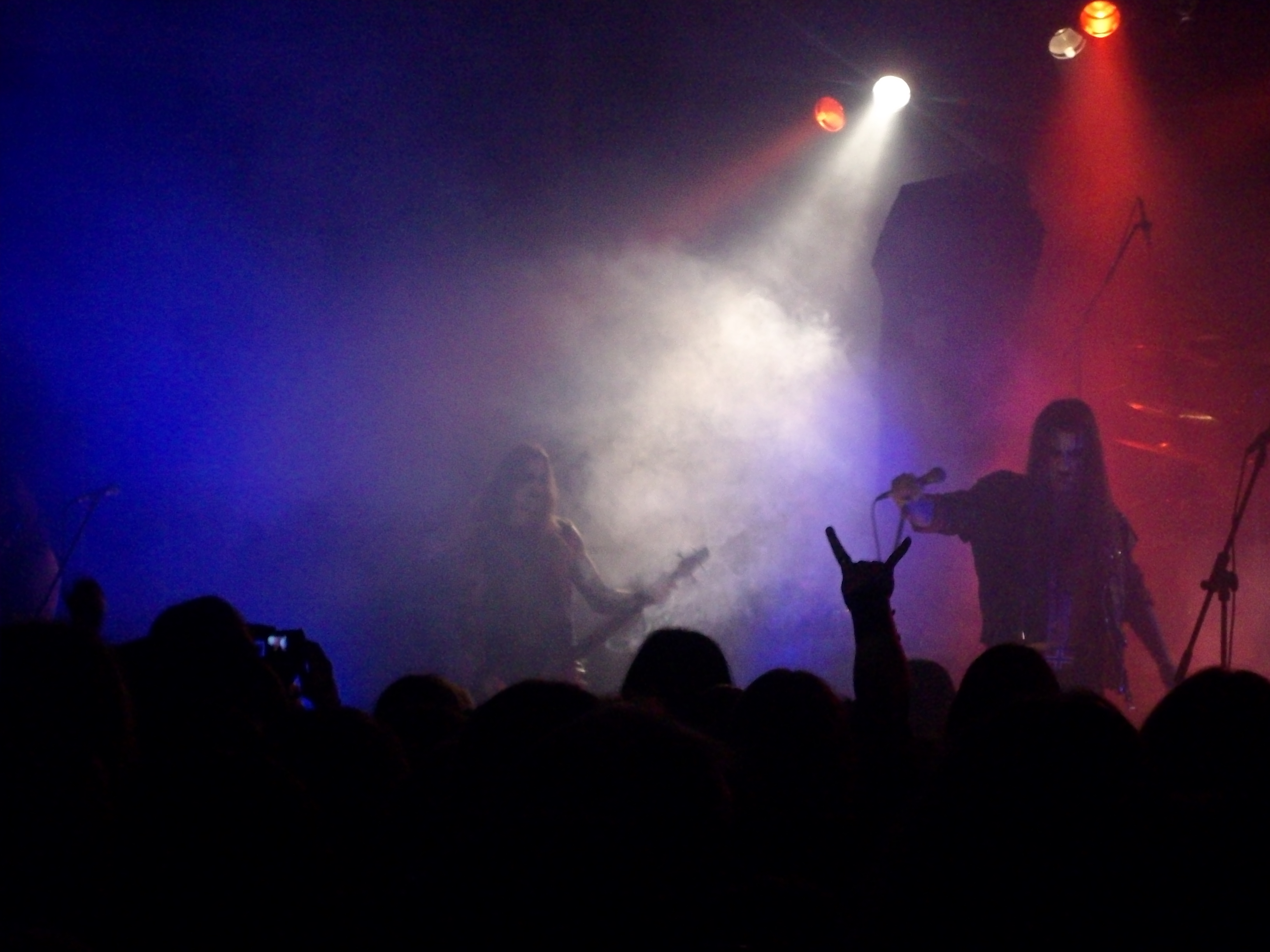 "Taake på festivalen ""Kings of black metal"", Giessen, Tyskland, 2011."