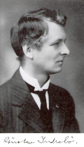 Gustav Indrebø var den leidande ideologen i høgnorskrørsla i millomkrigstidi.