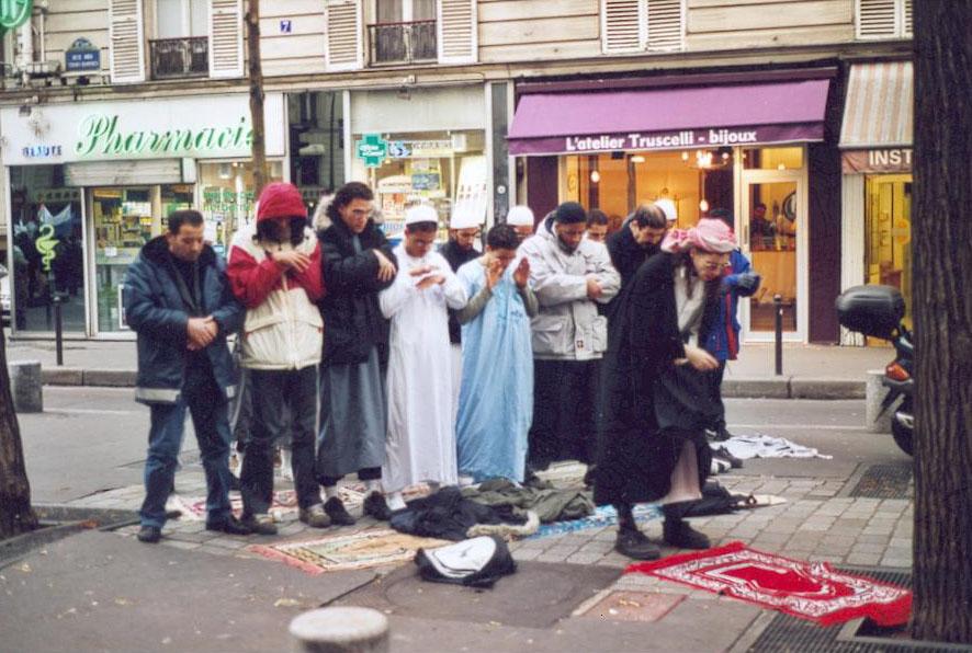 Farid Benyettou skipa til gatebøner i Paris i tidi då Sarkozy var innanriksminister.