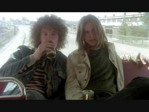 "Scena frå ""Lasse og Geir"" (1976)."