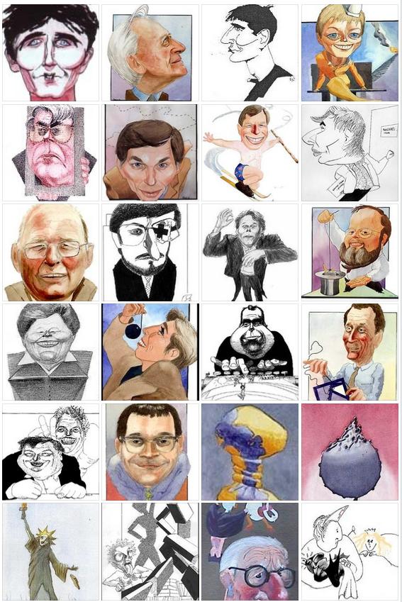 Kristin Bruun hev framigjenom havt ein formidabel produksjon av politiske karikaturteikningar, og ho var soleides solid kvalifisert for å sitja i juryen.