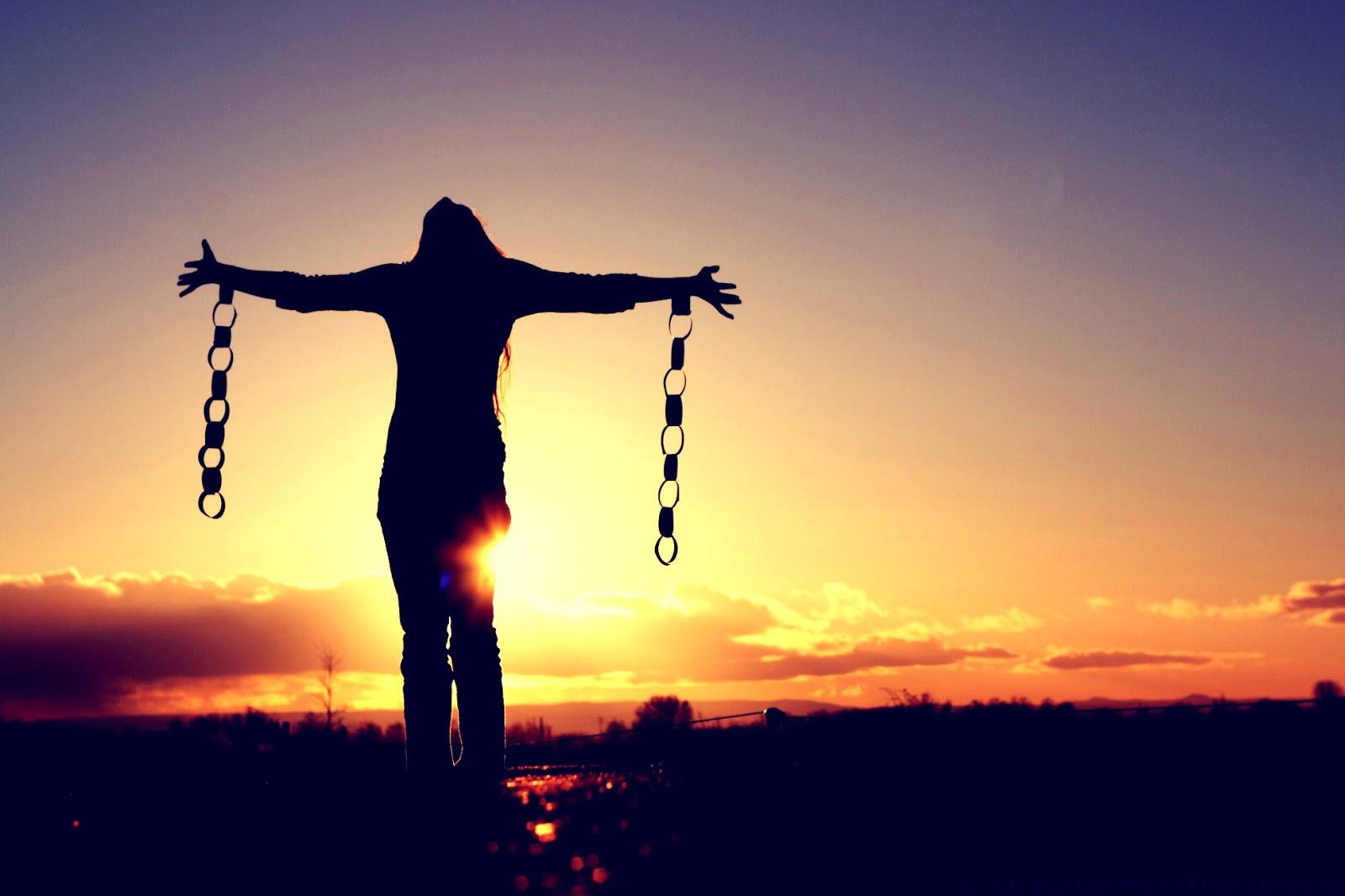 Frie menneske finst det einast der det er eit fritt folk.