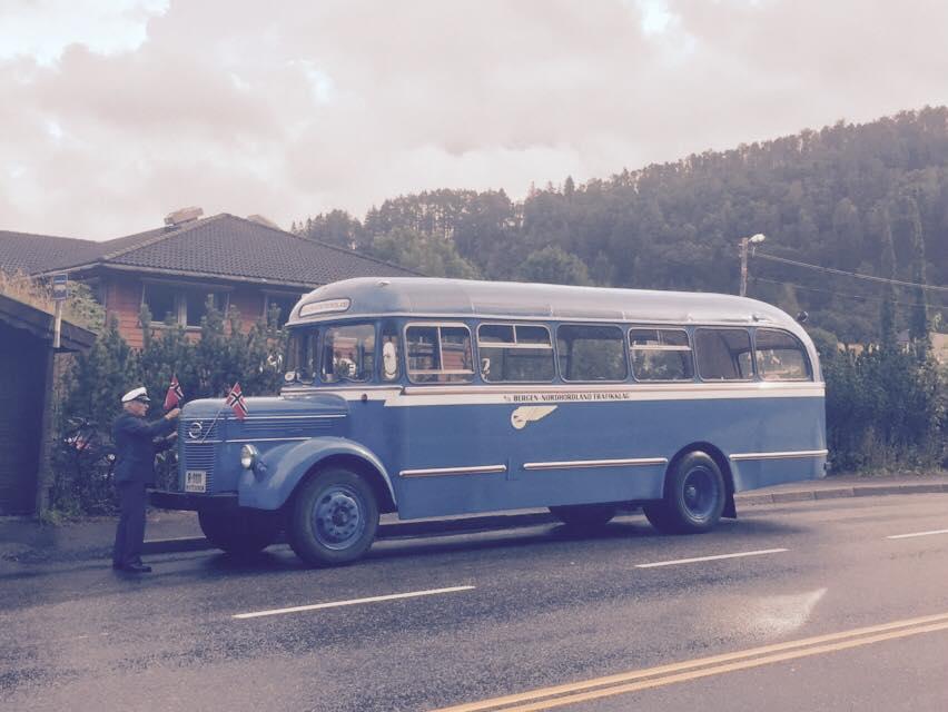 Veranbussen åt Bergen og Nordhordland Rutebillag.