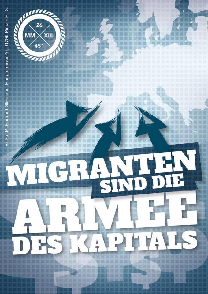 Masseinnvandringi er våpenet åt storkapitalen.
