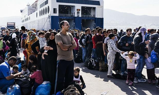Asylkaoset er komplett i Hellas - og ingen utveg i sikte.