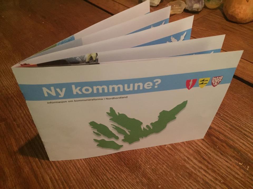 Ordførarane i Meland, Lindås og Radøy hev sendt ut sams informasjonsskriv der dei uppmodar folk um å engasjera seg i ordskiftet kring den varsla storkommunen. Olav Torheim tek dei på ordet!