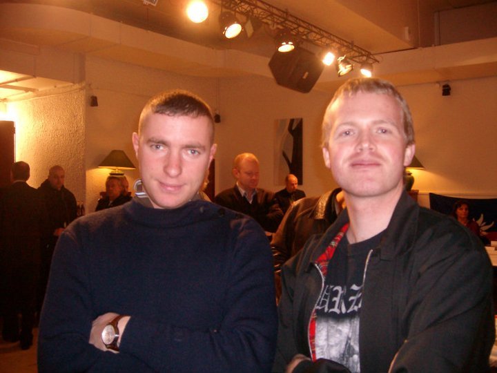 Målmannen-redaktøren møtte Goldofaf under den nasjonale og identitære dagen i Paris i 2009.