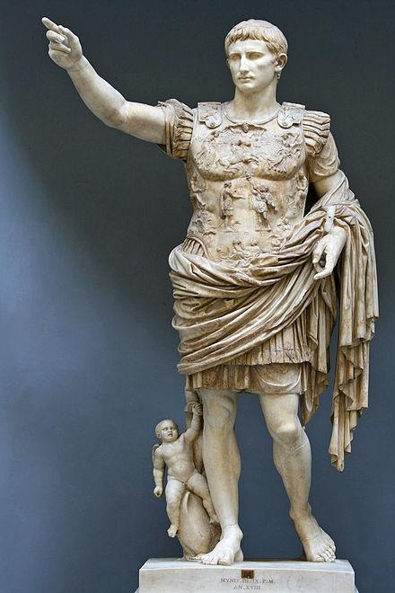 Octavian grunnla imperiet med ei sublim handling.