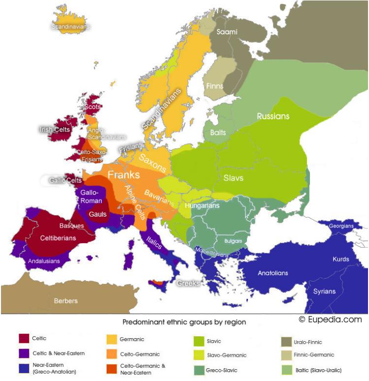 """""""Det kartet yver det """"völkische"""" Europa som vart teikna i det siste hundradåret, med ein visjon tufta på grunndragi og medvitet um desse, og det i staden for reglar og reguleringar, det kjem endelegt til sin rett."""""""