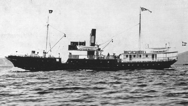 D/S Framnæs var det fyrste dampskipet åt Fylkesbaatane.