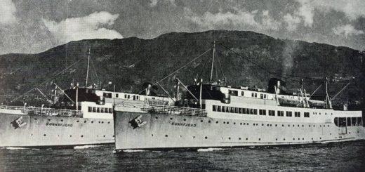 """Systerskipi """"Sunnfjord"""" og """"Sognefjord""""."""