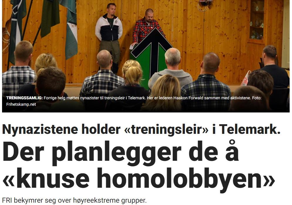 """""""HOMOLOBBY"""": Det var Nordfront som var fyrst ute i Noreg med å setja namn på eit velorganisert gender-ideologisk nettverk, og media fylgjer gladelegt upp med eit hylekor som skal tabuisera denne unemnelege lobbyen ein gong for alle (lyder det ikkje litt kjent, når ein tenkjer etter?)."""