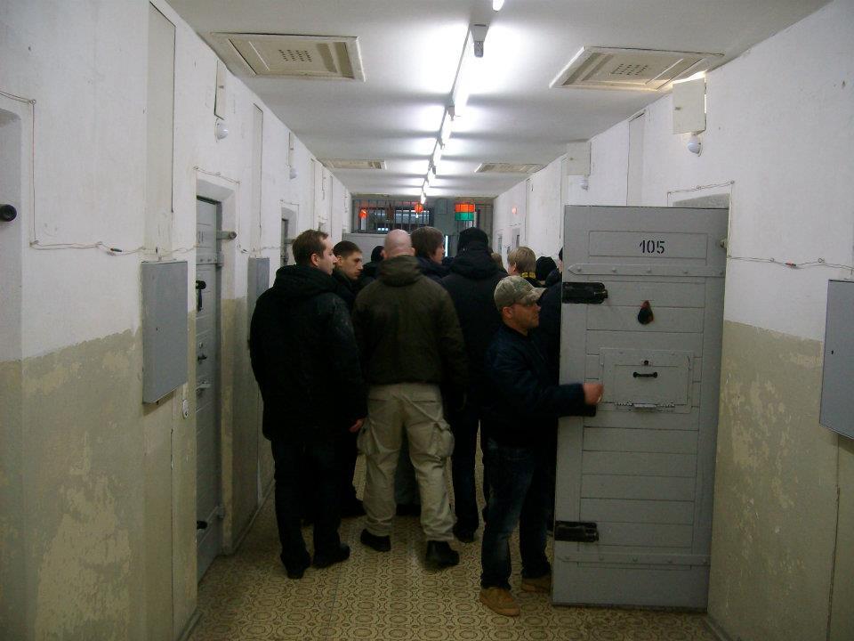 Vitjing i Stasi-fengselet i Aust-Berlin.
